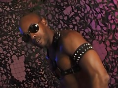 Hey guys, today we have none other than our boy Kid Chocolate gracing us with a nice solo movie. In case you didn`t know, Kid Chocolate here is one of the hottest black gays in the biz and he gets to prove it by showing off his beefy body and play with hi
