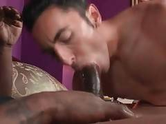 Horny Ebony Guy Loves To Get Fucked 1